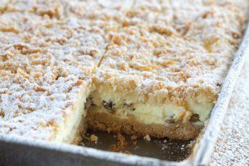 עוגת גבינה צימוקים של סבתא ניקי