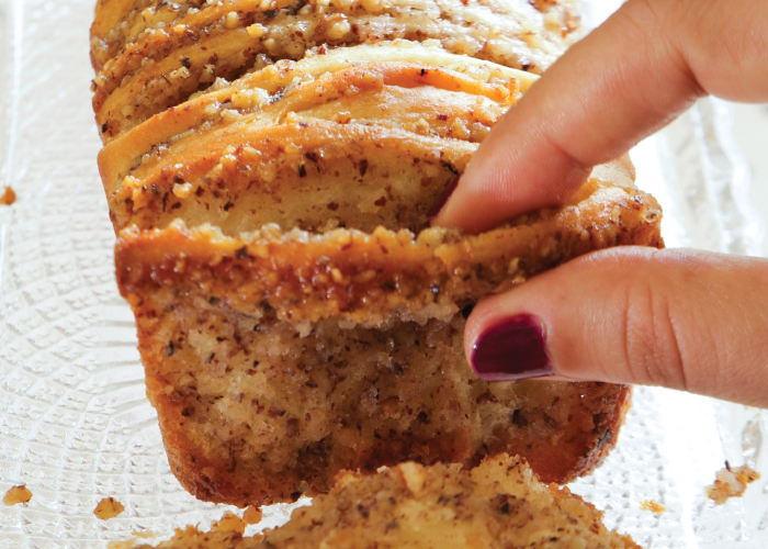 """עוגת שמרים """"משוך אותי"""". צילום: דניאל לילה"""