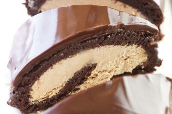 רולדת שוקולד מוקה משגעת