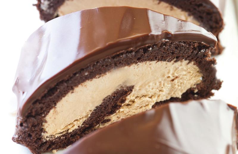 רולדת שוקולד מוקה משגעת. צילום: דניאל לילה