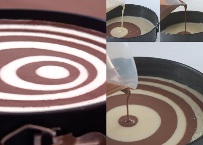 עוגת ספירלה גבינה ושוקולד. צילום: דניאל לילה