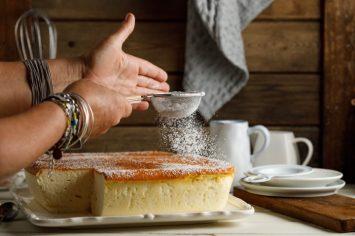 קל ומרשים: עוגת סופלה גבינה של קרין גורן