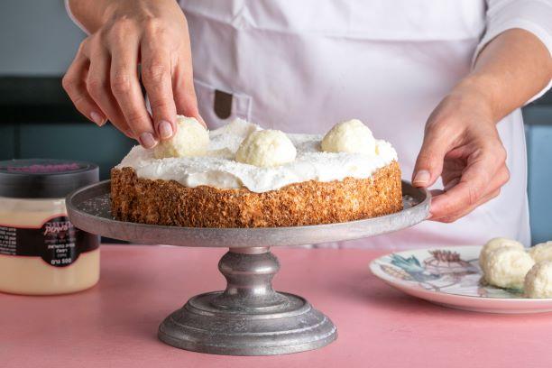 עוגת קוקוס 3