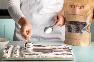 עוגיות מרנג זברה שוקולד 2