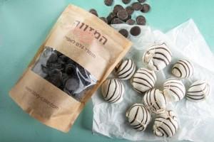 עוגיות מרנג זברה שוקולד 6