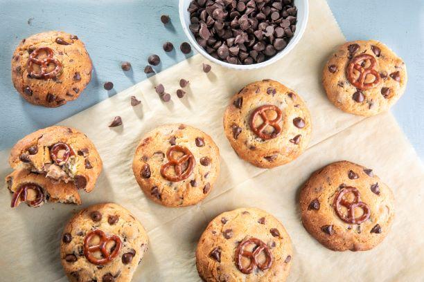 עוגיות שוקוצ'יפס בייגלה 4
