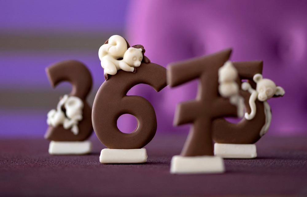 מספרים משוקולד קרין