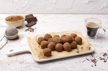 טראפלס שוקולד וקפה בקלי קלות