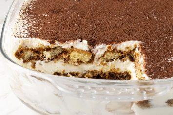 טירמיסו - עוגת שכבות איטלקית עם מסקרפונה וקפה