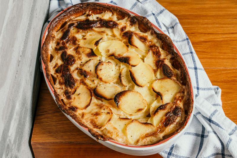 גרטן תפוחי אדמה ובטטה. צילום: ספיר קוסה