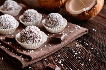 כדורי שוקולד עם שיבולת שועל